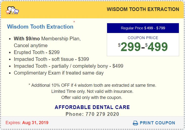 WISDOM TOOTH SURGICAL EXTRACTION
