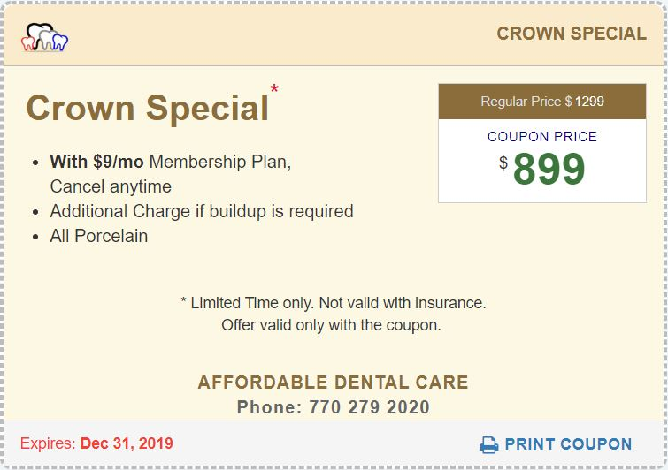 Crown Special Coupon